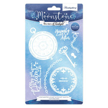 Hunkydory Moonstone Dies - Enchanted Locket & Pocket Watch Cutting Dies MSTONE073