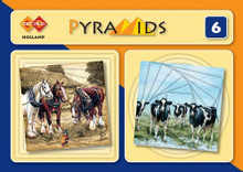 Find It Trading Card Deco Holland Pyramids Book 6