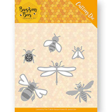 Find It Trading Jeanine's Art Buzzing Bees- Set of Bugs Cutting Die Set JAD10076