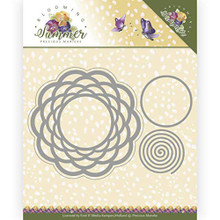 Find It Trading Precious Marieke Blooming Summer- Braided Circle Die Set PM10152