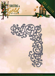 Find It Die - Amy Design - Christmas in Gold - Golden Corner - ADD10185