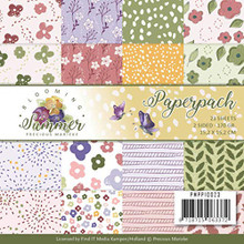 Find It Trading Precious Marieke Blooming Summer 6x6 in Paperpack PMPP10023