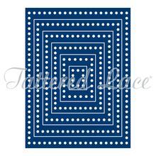 Tattered Lace Decorative Edge Rectangles Die Set ETL12