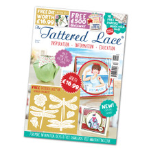 Tattered Lace Magazine Issue 57 with Botanical Dragonflies Dies