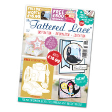 Tattered Lace Magazine Issue 55 with Suited And Booted Dies