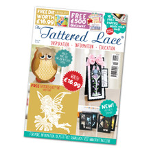 Tattered Lace Magazine Issue 58 with Daisy Fairy Dies
