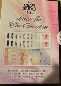 My Craft Studio Elite Lace In The Garden CD-ROM