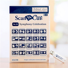 Tattered Lace Scan N Cut Symphony Celebration USB