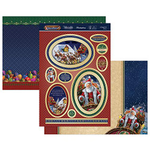 Hunkydory 'TWAS The Night Before Christmas Luxury Topper Set- A Sleigh Full of Fun TNB903
