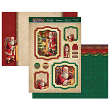 Hunkydory 'TWAS The Night Before Christmas Luxury Topper Set- He's Checking His List TNB906