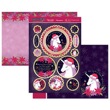 Hunkydory Christmas in Style Luxury Topper Set- A Magical Christmas- ELEG19-902