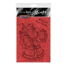 Hunkydory for The Love of Stamps A6 Clear Stamps- Santa Surprise FTLS444