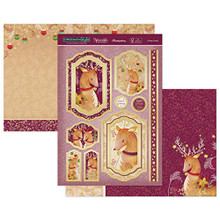 Hunkydory Christmas in Style Luxury Topper Set- A Deer Friend- ELEG19-901