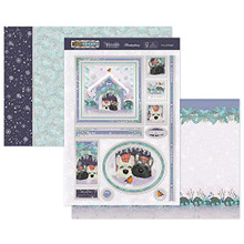 Hunkydory Festive Friends Luxury Topper Set- Furry & Bright- CUTE19-906