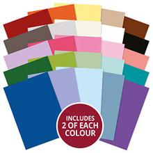 Hunkydory Adorable Scorable All-New 2019 Colorways 50 Sheet Pack AS738
