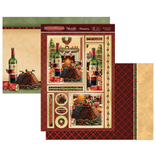 Hunkydory Winter Warmers- Luxury Topper Set- Eat, Drink, and Be Merry! Classic19-904