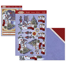 Hunkydory Stepping Into Christmas Designer Deco-Large Set- Do You Hear What I Hear? STEPDEC903
