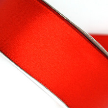 25 yd 3/4 in Satin Ribbon- Red