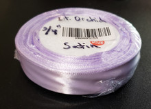 "25 yd Satin Ribbon 3/4"" Lt. Orchid  25-yards RN0005-51"