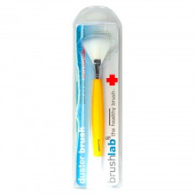 Fan Shaped Anti Bacterial Glitter Brush (Cosmetic Brush)