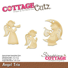 CottageCutz Dies-Angel Trio 1.2' To 2.5'