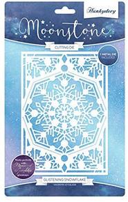 Hunkydory Moonstone Cutting Dies- Glistening Snowflake MSTONE116
