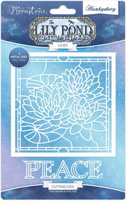 Hunkydory Moonstone Cutting Dies- Lily Pond Lilies MSTONE100