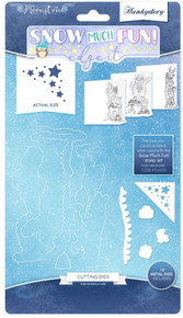 Hunkydory Moonstone Die Collection - Snow Much Fun- Edge It MSTONE112
