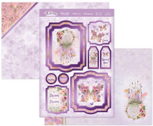 Hunkydory Lilac Moments 3-pc Topper Set- Dream A Little Dream LILAC904