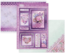 Hunkydory Lilac Moments 3-pc Topper Set- Follow Your Heart LILAC903