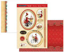 Hunkydory Christmas in Style- Luxury Topper Set- Riding Home for Christmas ELEG19-907