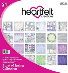 Heartfelt Creations Double-Sided Paper Pad 12'X12' 24/Pkg-Burst of Spring
