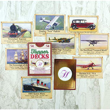Hunkydory Topper Deck - Planes, Trains, Automobiles - 54 Images for Card Making DECK013