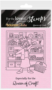 Hunkydory for The Love of Stamps - Golden Oldies - Queen of Crafts FTLS414