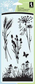 Inkadinkado Clear Stamps 4'X8'-Meadow