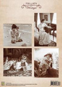 Nellie's Vintage Prints-Breeze NEVI030