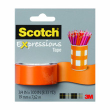 Scotch Expressions Removable Tape - Orange (OP647)