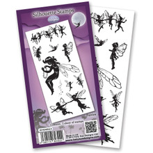 Flower Soft Katy Sue Designs Stamps, 4 by 6-Inch Sheet, Fairies