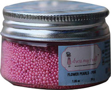 Dress My Craft Flower Pearls 1oz-pink
