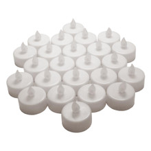 Darice 24 Piece Box LED White Tea Lights Standard