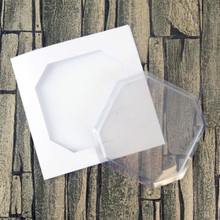 Hunkydory Dimensional Card Kit 6x6 with Octagon Aperture and Clear Card Front