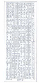 Starform Deco Stickers Multi Sayings Vertical -Gold
