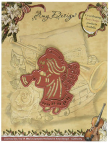 Find It Trading Angel Amy Design Vintage Christmas Die