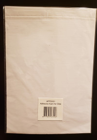 Adhesive Foam for Dies- 1 Sheet  of A4 Ejection Foam