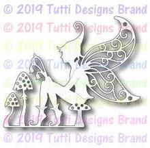 Tutti Designs - Dies - Fairy On Toadstool (TUTTI-543)