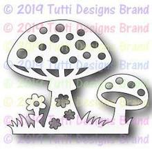 Tutti Designs - Dies - Magical Toadstools (TUTTI-536)