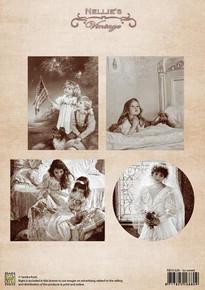 Nellie's Vintage Prints-So Sweet NEVI028