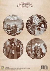 Nellie's Vintage Prints-Children NEVI009