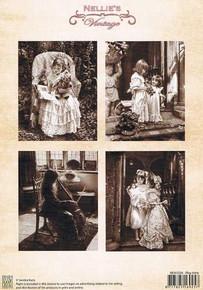Nellie's Vintage Prints-Play Time NEVI034