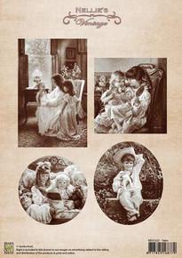 Nellie's Vintage Prints- Tales NEVI025